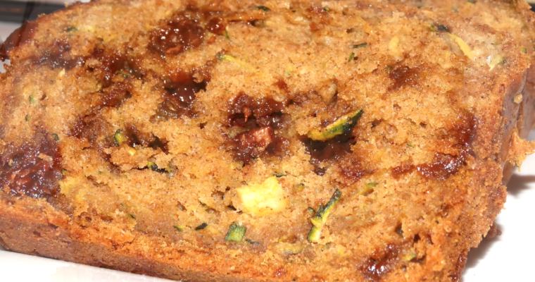 Zucchini Bread Chocolate Chip Recipe