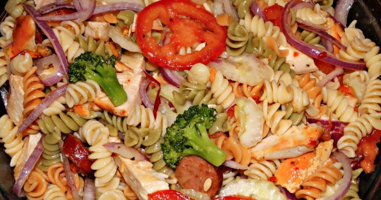 Pasta Salad With Chicken And Sausage