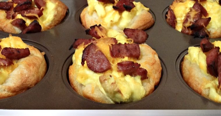 Sausage Egg And Cheese Breakfast Bites