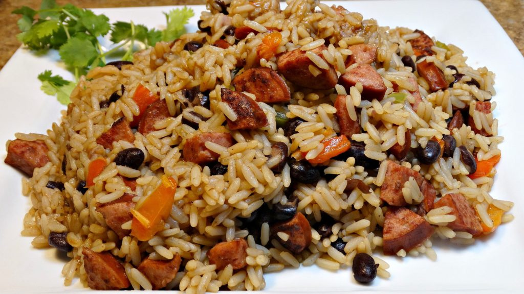 10 Minute One Pot Rice And Beans Sausage Cooking With Tammy Cipes