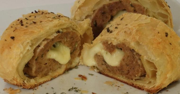 Sausage Rolls Puff Pastry – Mozzarella Stuffed Sausage Rolls