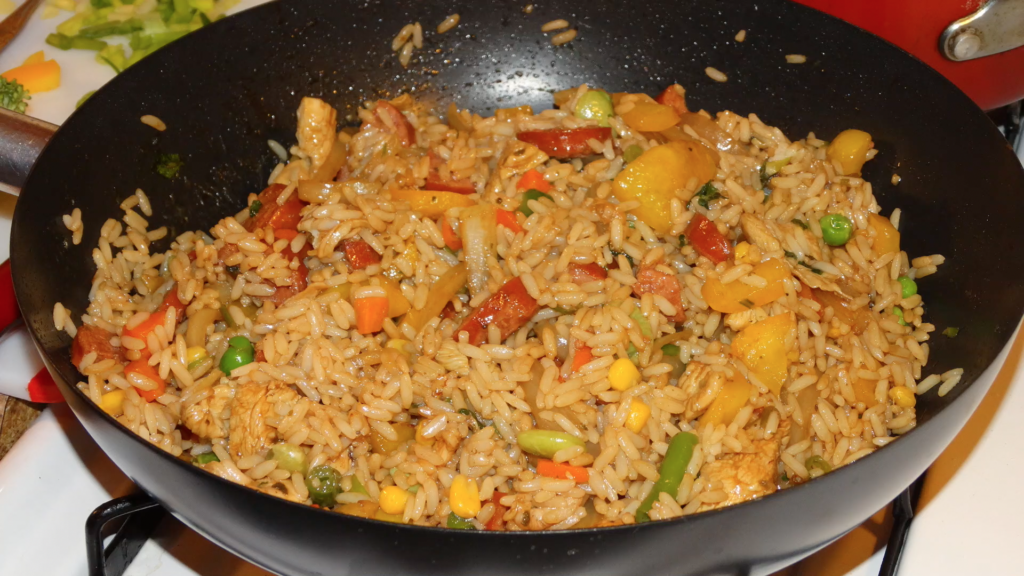 Chicken And Sausage Vegetable Fried Rice Cooking With Tammy Recipes