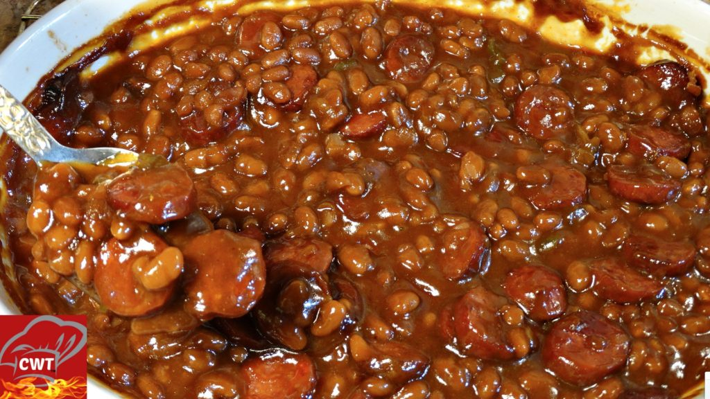 How long do baked beans take to cook on the stove