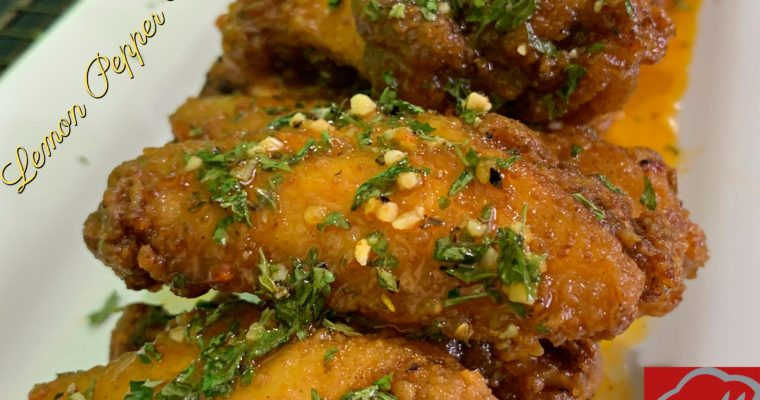 Lemon Pepper Wings Recipe