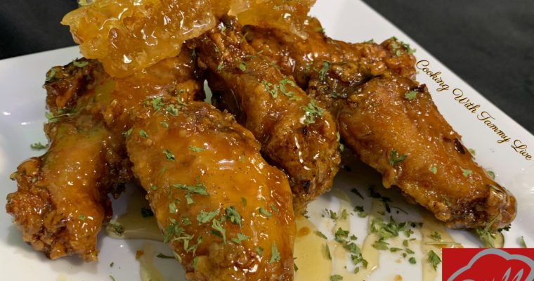 Honey Garlic Wings Recipe