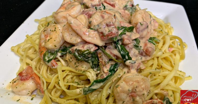 Creamy Tuscan Shrimp Recipe
