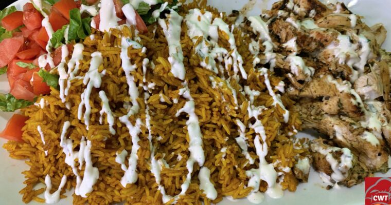 Halal Chicken And Rice