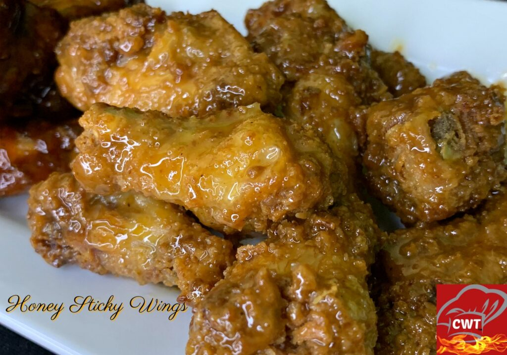 Sticky Honey Wings