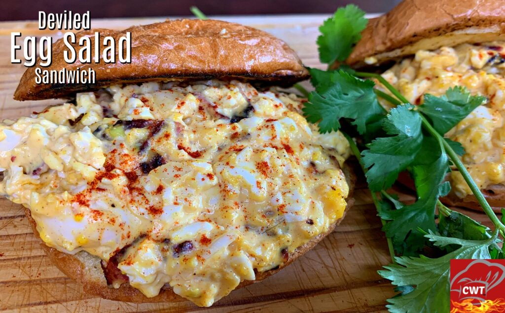 Deviled Egg Sandwich Recipe