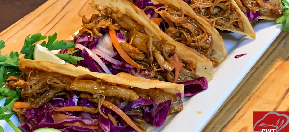 BBQ Shredded Chicken Tacos