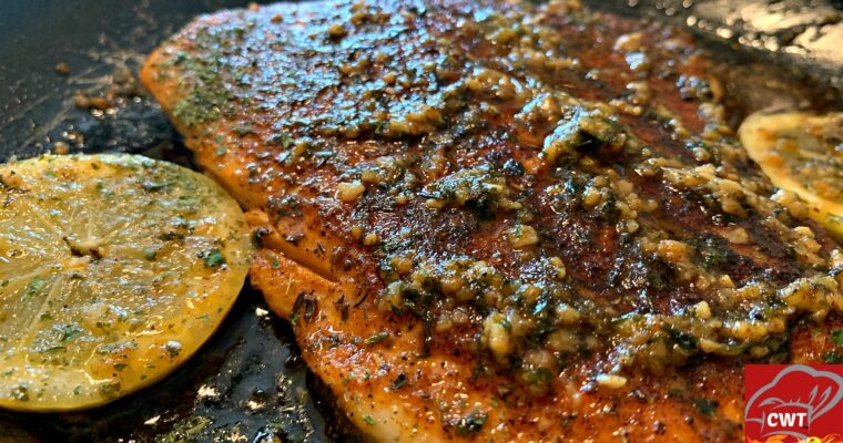 Easy Blackened Salmon Recipe