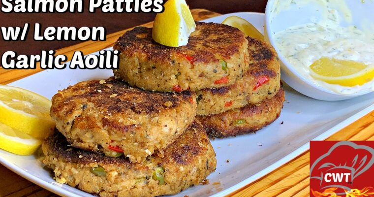 Best Salmon Patties Recipe
