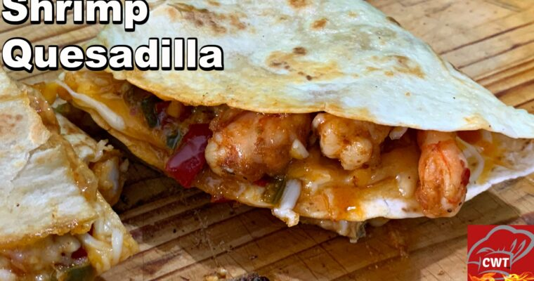 Best Shrimp Quesadillas Recipe