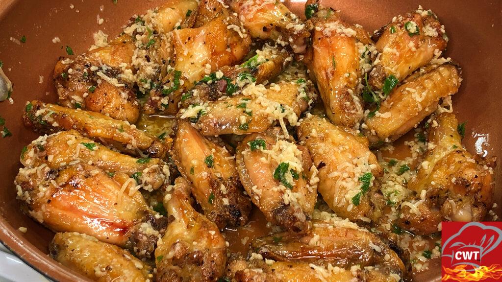 Garlic Parmesan Chicken Wings